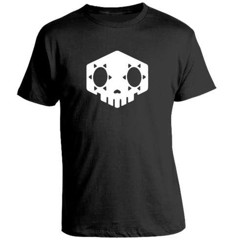 Camiseta Overwatch Sombra Skull