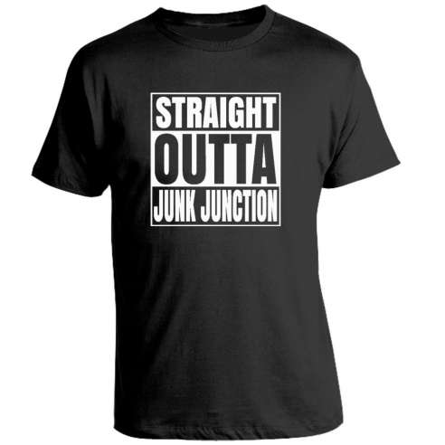 Camiseta Fortnite Straight Outta Junk Juction