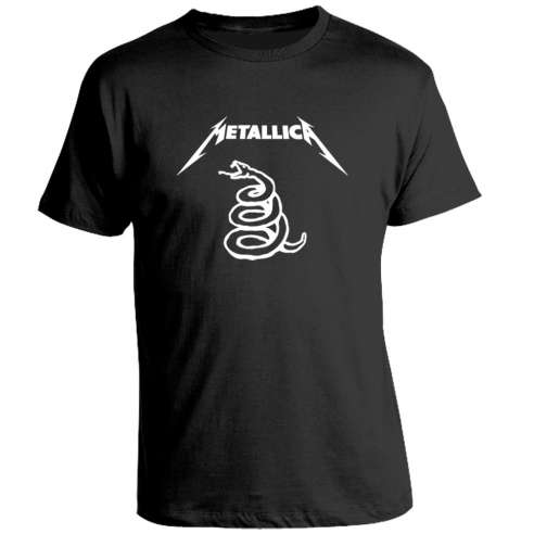 Camiseta Metallica Enter the sandman
