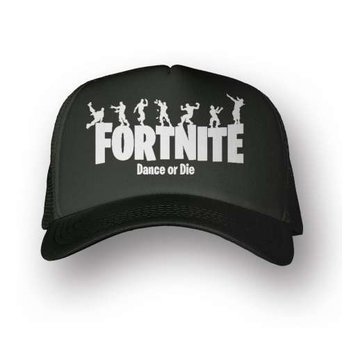 Gorra Fortnite Dance Or Die Black