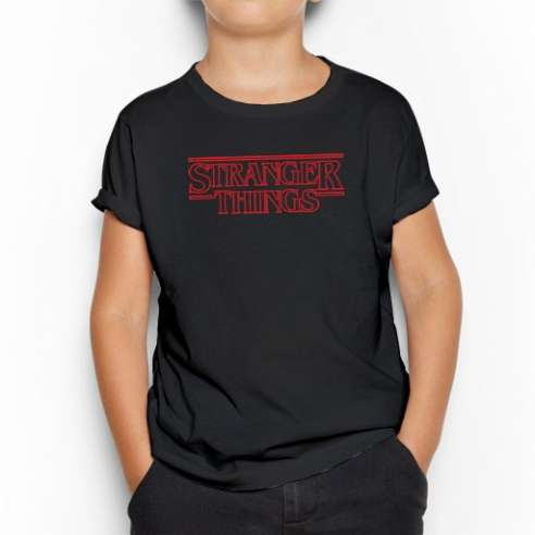 Camiseta Stranger Things Infantil