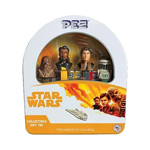 Caja Star Wars Han Solo Dispensadores Pez