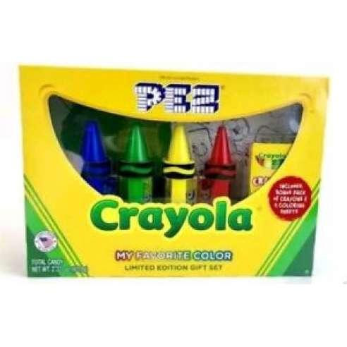 Crayola Caja Dispensador Caramelos Pez