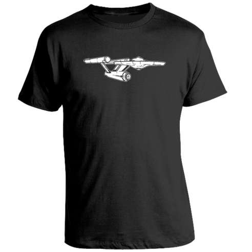 Camiseta Enterprise Star Trek
