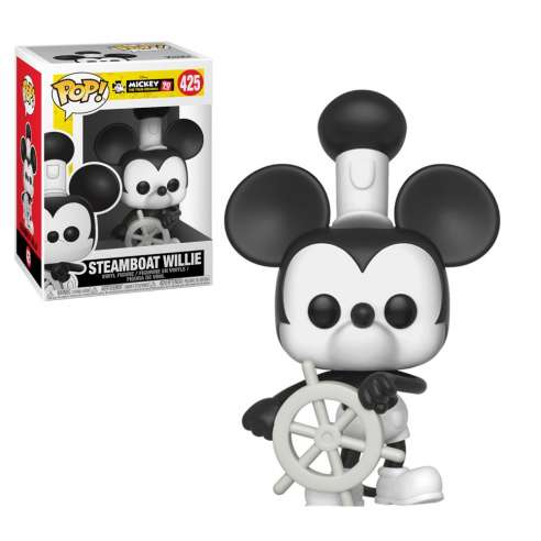 Funko Pop Steamboat Willie Mickey's 90th Anniversary