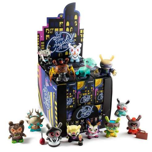 City Cryptid Multi-Artist Dunny Art Figure By Kidrobot