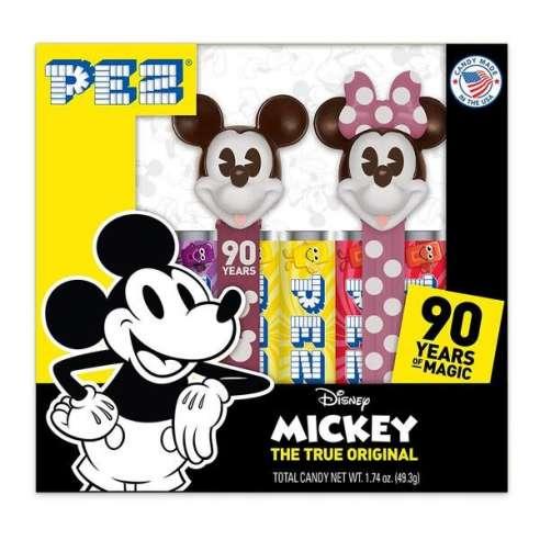 Mickey Mouse 90 aniversario Caja Dispensador Caramelos Pez
