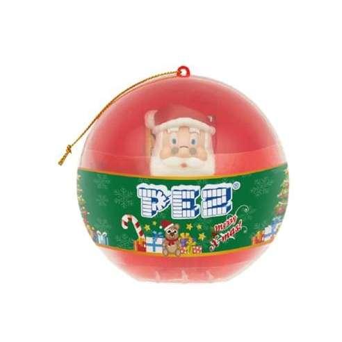 Bola Santa Claus Dispensador Caramelos Pez