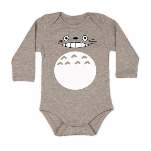 Body Bebe Totoro Manga Larga