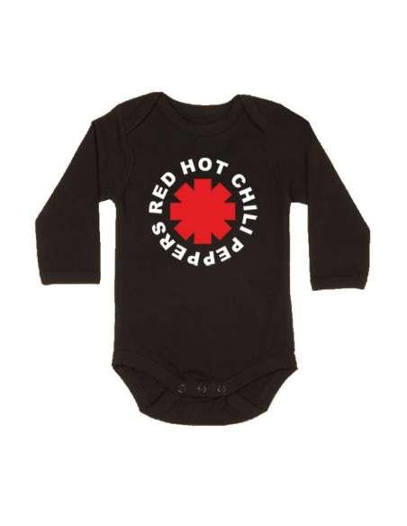 Body Bebe Red Hot Chilli Peppers Manga Larga