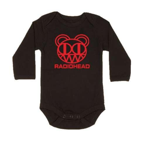 Body Bebe Radiohead Manga Larga