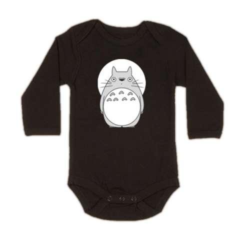 Body Bebe Totoro Luna Manga Larga