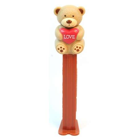 Valentine Bear Love Dispensador Caramelos Pez