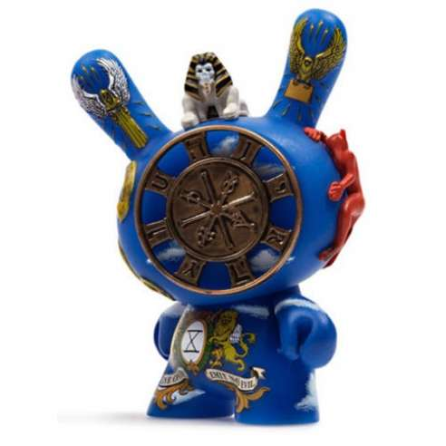 The Wheel Of Fortune Arcane Divination Kidrobot Dunny