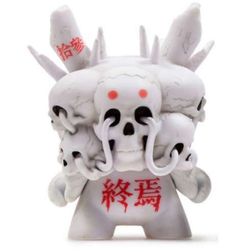 Death White Arcane Divination Kidrobot Dunny