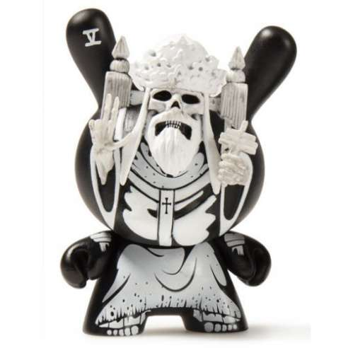Hierophant White Arcane Divination Kidrobot Dunny