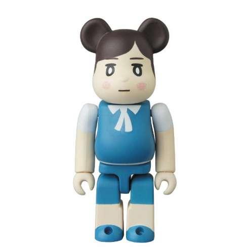 Bearbrick 100% Cute Fuchico Blue Series 34