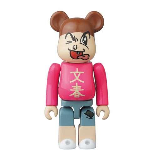 Bearbrick 100% Hero Bunshun Kun Series 34