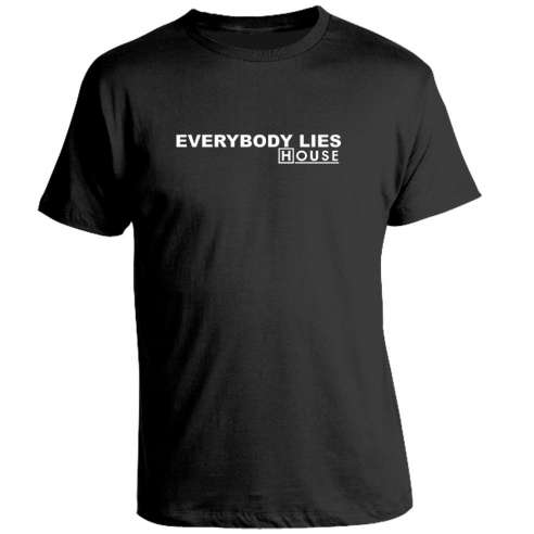 Camiseta House Everybody Lies