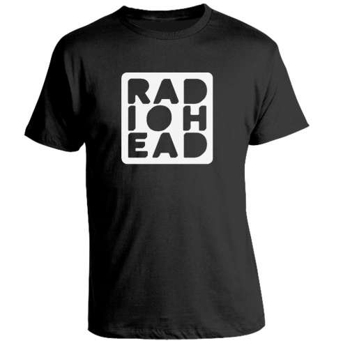 Camiseta Radiohead Band