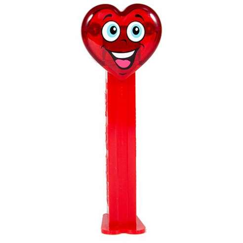 Happy Crystal Heart Dispensador Caramelos Pez