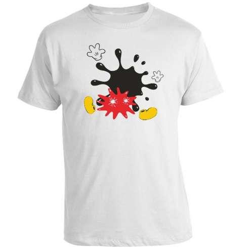 Camiseta Mickey Mouse Splashed