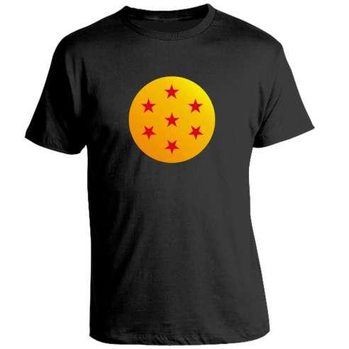 Camiseta Dragon Ball bola siete estrellas