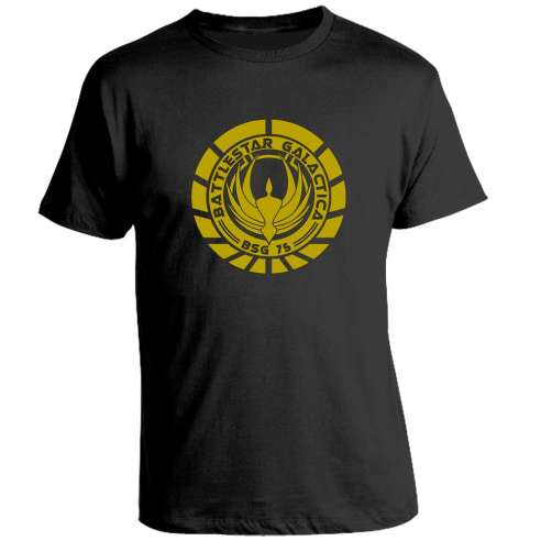 Camiseta Battlestar Galactica BSG 75