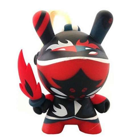 Art of War Red knight Dunny Kidrobot