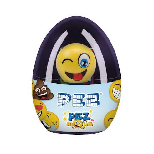 Dispensador Caramelos Pez Emoji Egg Silly