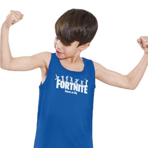 Camiseta de Tirantes Fortnite Dance or Die Infantil