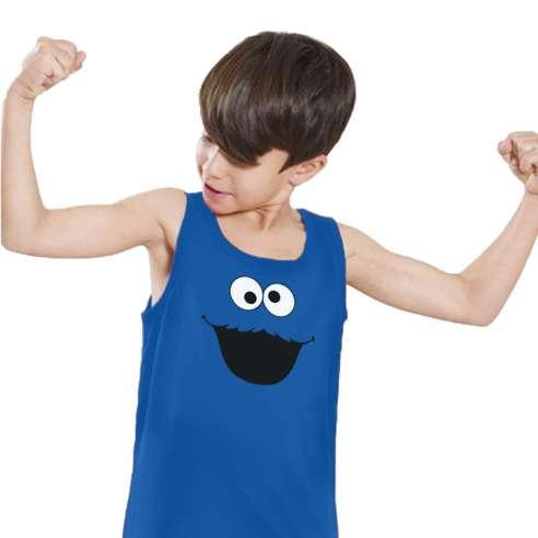 Camiseta de Tirantes Monstruo de las Galletas Infantil