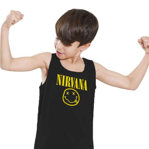 Camiseta de Tirantes Nirvana Infantil