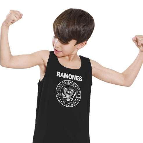 Camiseta de Tirantes Ramones Infantil