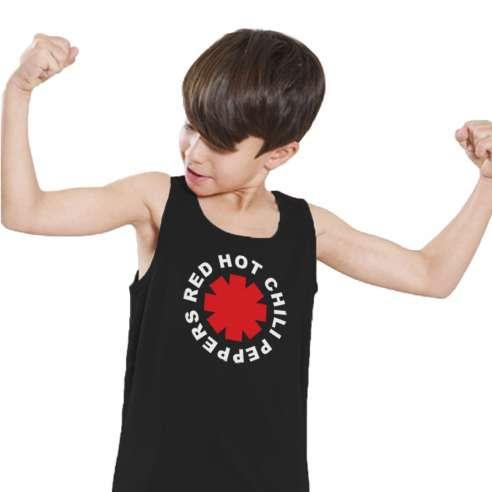 Camiseta de Tirantes Red Hot Chili Peppers Infantil
