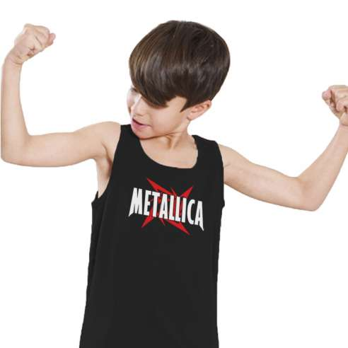 Camiseta de Tirantes Metallica Infantil