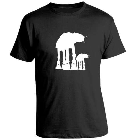 Camiseta Star Wars At-At
