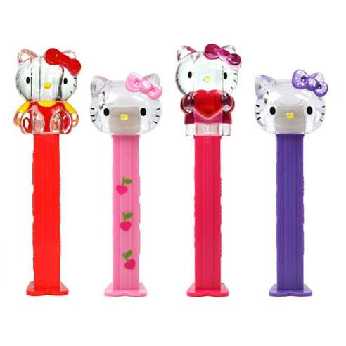 Dispensador Caramelos Pez Hello Kitty Set Crystal 2013