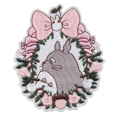 Parche Bordado Totoro Shabby