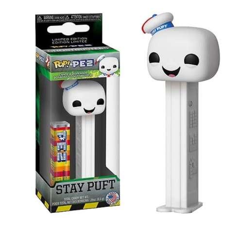 Stay Puff Ghostbusters Funko Pop PEZ