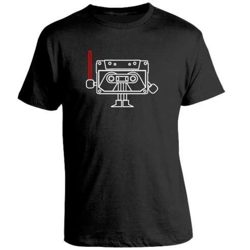 Camiseta Star Wars Darth Cassette
