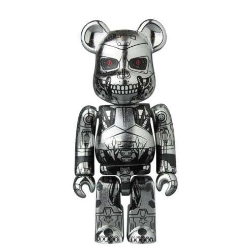 Bearbrick 100% SF Terminator T-800 Series 32