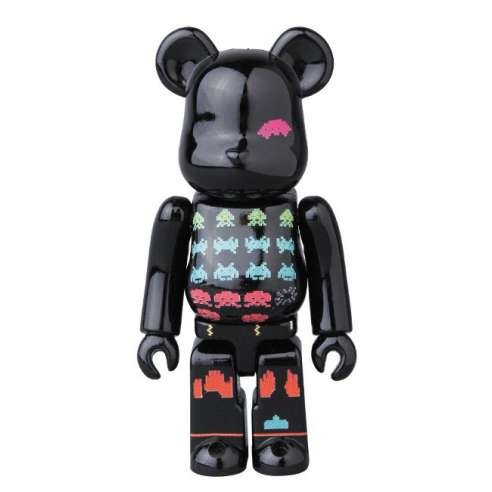 Bearbrick 100% Pattern Space Invaders Series 37