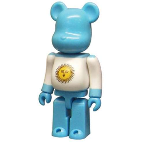 Bearbrick 100% Flag Argentina Series 14