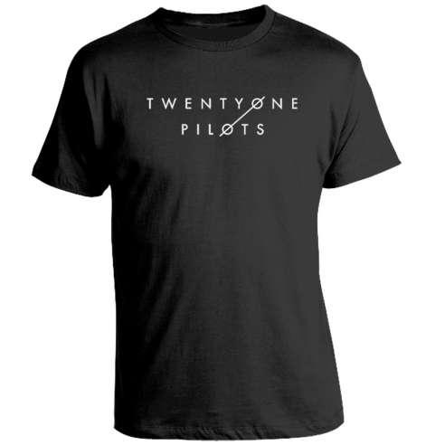 Camiseta Twenty One Pilots Logo