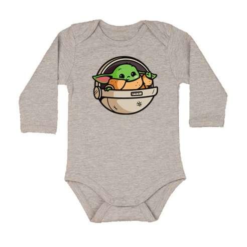 Body Bebe Baby Yoda Manga Larga