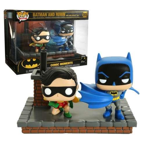Funko Pop Comic Moments: Batman And Robin