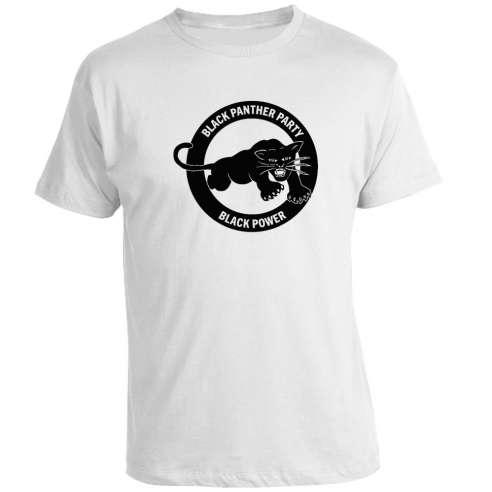 Camiseta Black Panther Party Black Power