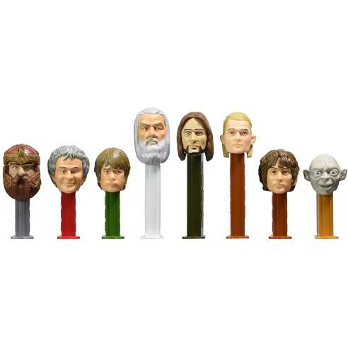 Lord of the Rings Set Dispensador Caramelos Pez