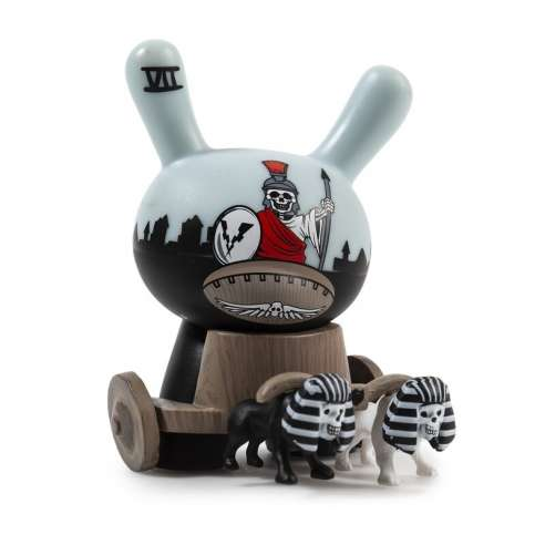 Arcane Divination - The Lost Cards The Chariot Dunny by Jon-Paul Kaiser